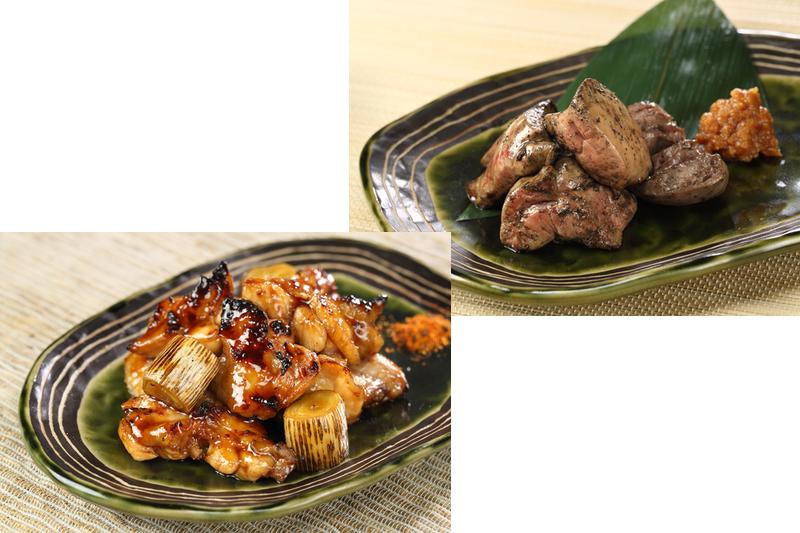 様々な地鶏料理