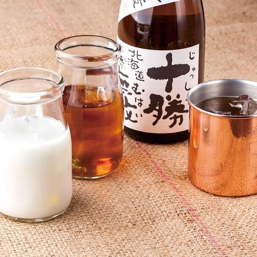 【十勝焼酎カクテル 3種】