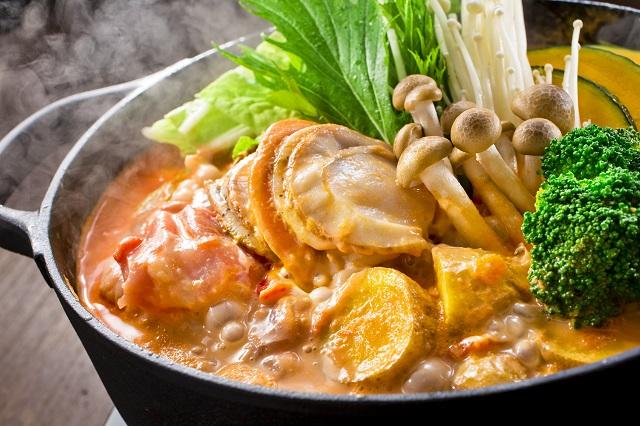 海鮮トマトクリーム鍋