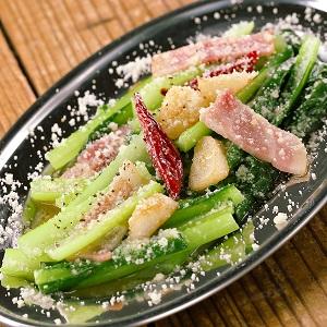 小川さん家の小松菜ペペロン