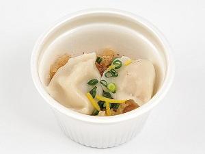 炊餃子スープ
